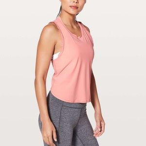 NWT Lululemon Fast As Light Tank